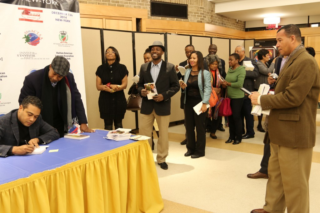 Jerry Tardieu in New-York: Huge Turnout for a big dreamer