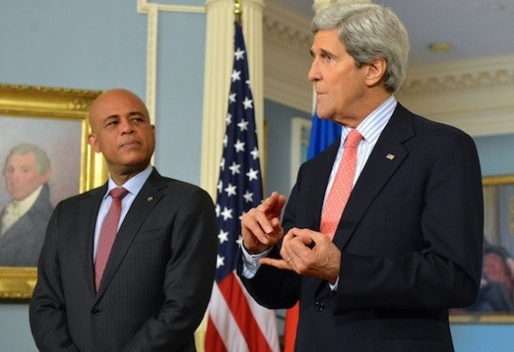 U.S. Secretary of State John Kerry Urges Compromise As Haiti Seeks To Form New Government
