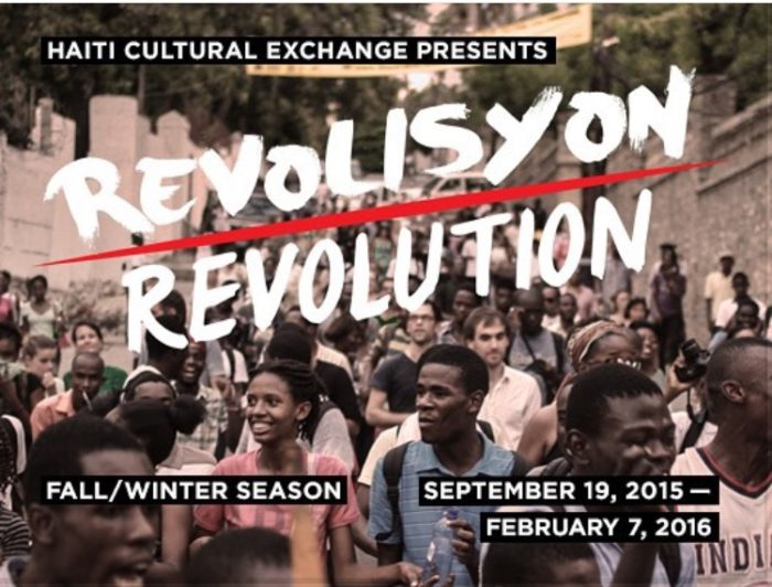 "Haiti Cultural Exchange Kicks Off Fall Series ""Revolisyon"""