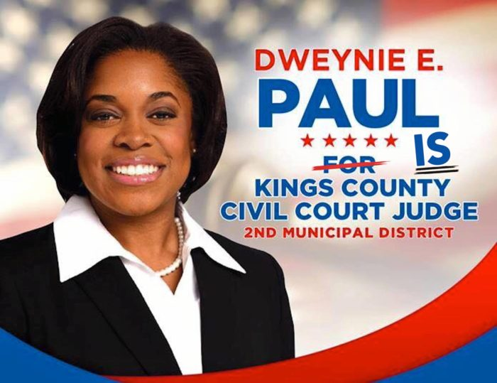 Dweynie Paul, First Haitian American Elected NY Civil Court Judge