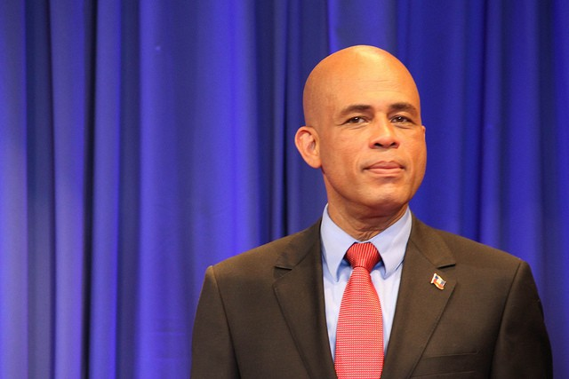Martelly Family Flees to Dominican Republic