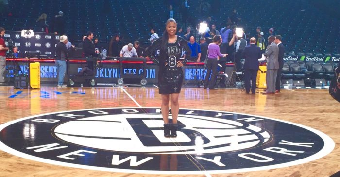Karen Civil Day at Barclays Center in Brooklyn
