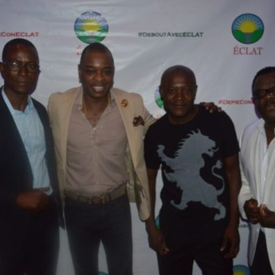 GERALD KALIKO OF HOLLYWOOD LIVE, RITCHIE OF KLASS, GILBERT OF KOMPA MAGAZINE, RODNEY NOEL OF MOCA CAFE
