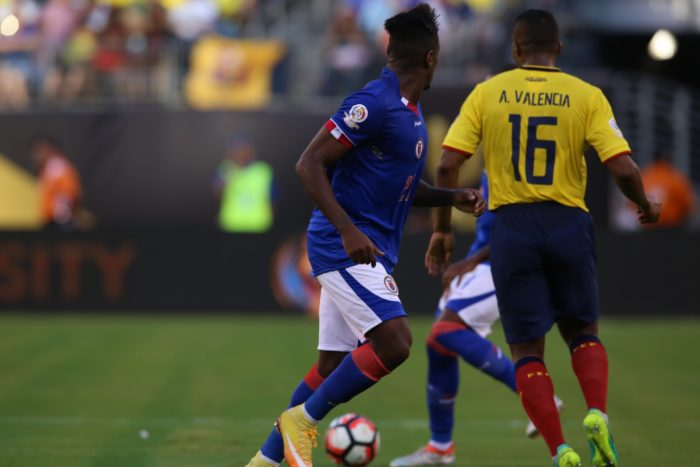Ecuador Beat Haiti 4-0 At Copa Match