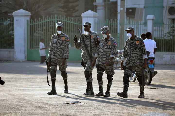 Army of Haiti Organizes Recruitment of Soldiers