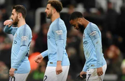 Manchester City Lost to Newcastle United