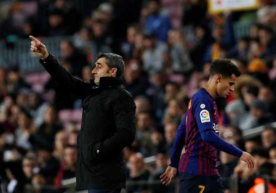 Philippe Coutinho 'set for Barcelona crisis talks' with Ernesto Valverde