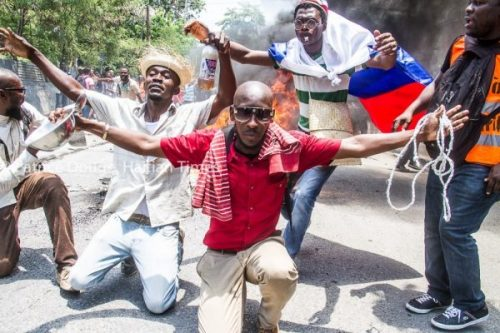 Haiti Protesters Call for Final Audit of Petrocaribe Report