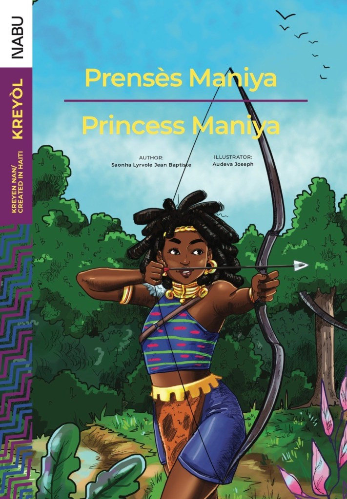 Storybook Collection Features Bi-lingual Haitian Female Protagonists