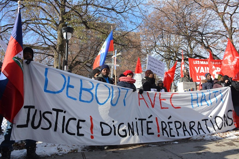 Montreal's Haitian Community Call for Haiti President to Step Down
