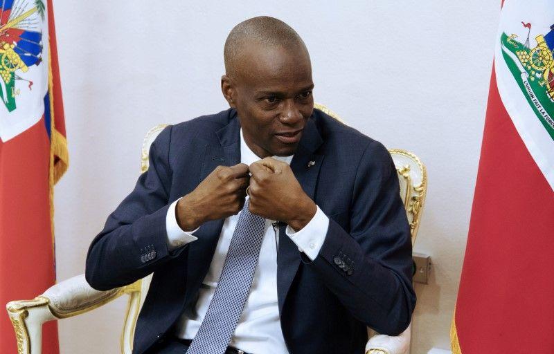 jovenel moise haiti president