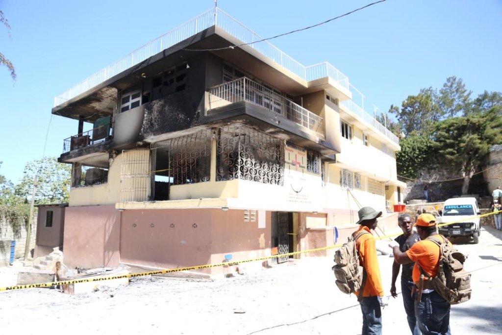 Tragedy at the Orphelinat de l'Eglise de la compréhension de la Bible