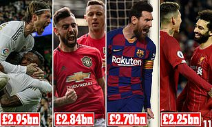 Liverpool leapfrog Manchester City AND Chelsea in KPMG's list of Europe's most valuable clubs