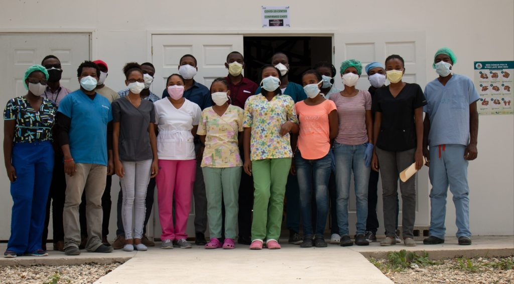 Haiti is struggling in its response to Covid-19 pandemic