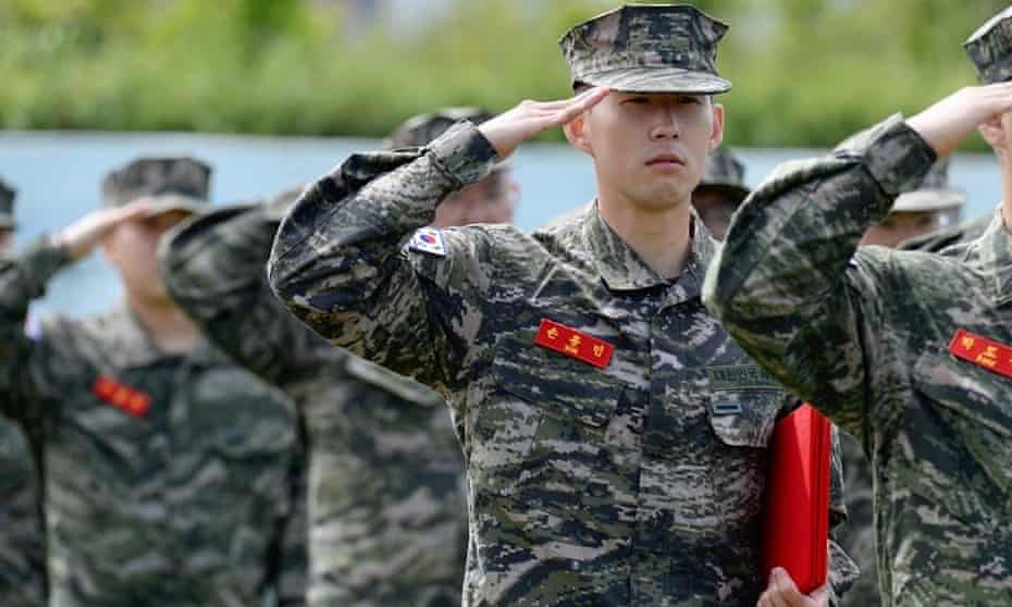 Tottenham's Son Heung-min says he enjoyed his 'tough' military service