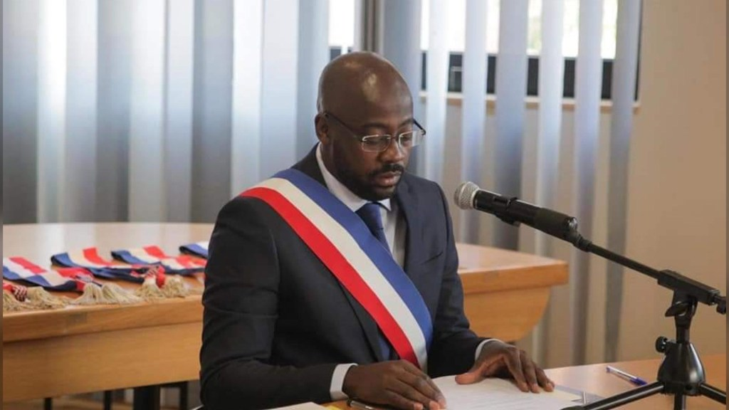 A Frenchman of Haitian origin elected Mayor of a commune in France