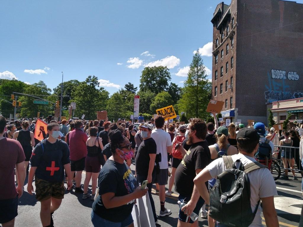 George Floyd Protests in Flatbush