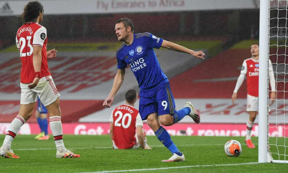 Jamie Vardy gives Arsenal painful reminder of what they almost had