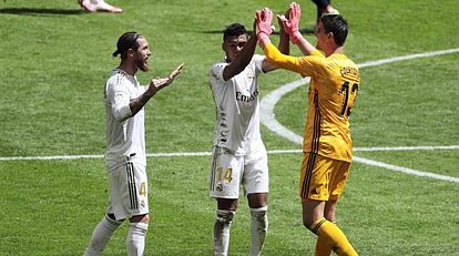 Real Madrid growing tired of refereeing talk