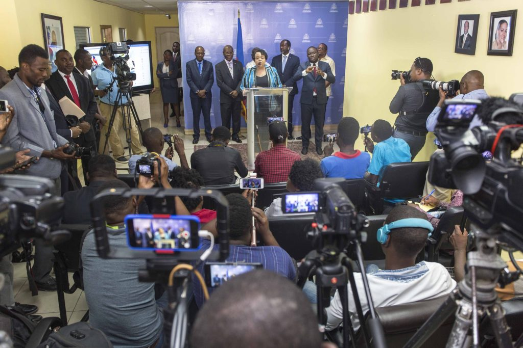 Haitian President Jovenel Moïse Finds out why  Courtof Auditors returned 29 contracts from Ministry of Health