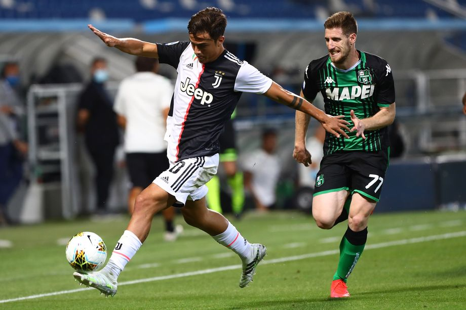 Paulo Dybala as a center forward isn't working for Juventus