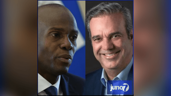 Haitian president Jovenel Moise called and congratulated his Dominican counterpart Luis Abinader