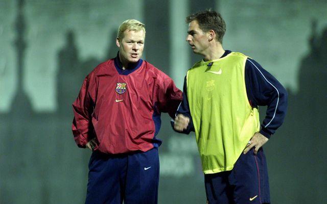 Ronald Koeman is the new FC Barcelona coach