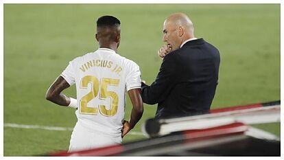 Vinicius' rollercoaster under Zidane