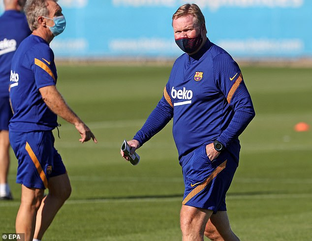 Ronald Koeman facing Dutch revolution at Barcelona