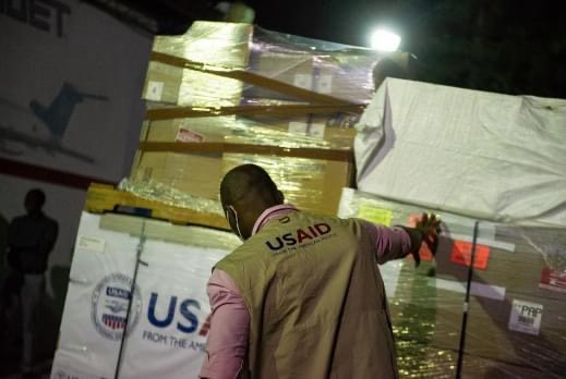 USAID donations, government corruption