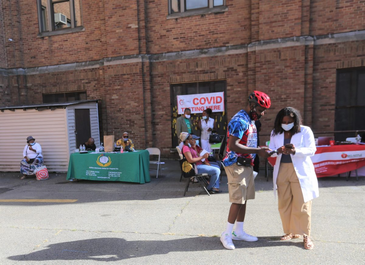 coronavirus testing in Brooklyn