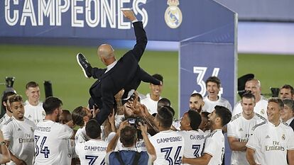 Zidane's future is in the hands of his players