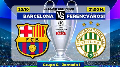 Barcelona vs Ferencvaros First outing since Bayern Munich rout