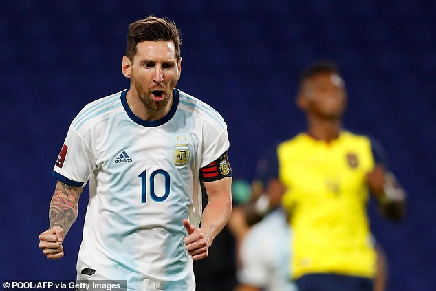 Argentina 1-0 Ecuador: Lionel Messi's early penalty seals victory