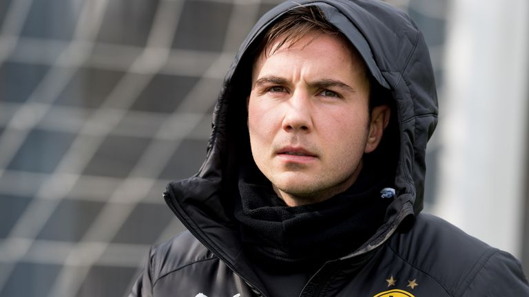 Mario Gotze joins PSV Eindhoven after leaving Borussia Dortmund