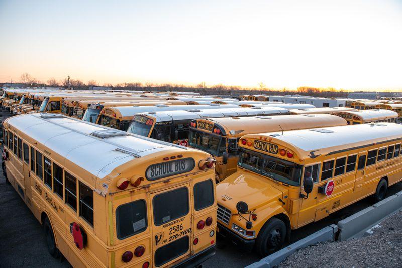 Nyc school bussses