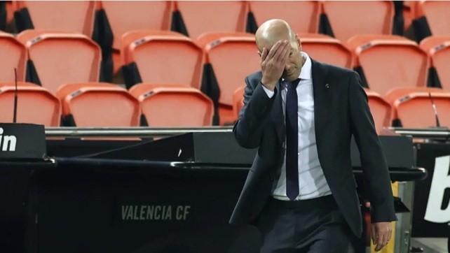 Zinedine Zidane Takes Responsibility for Real Madrid's