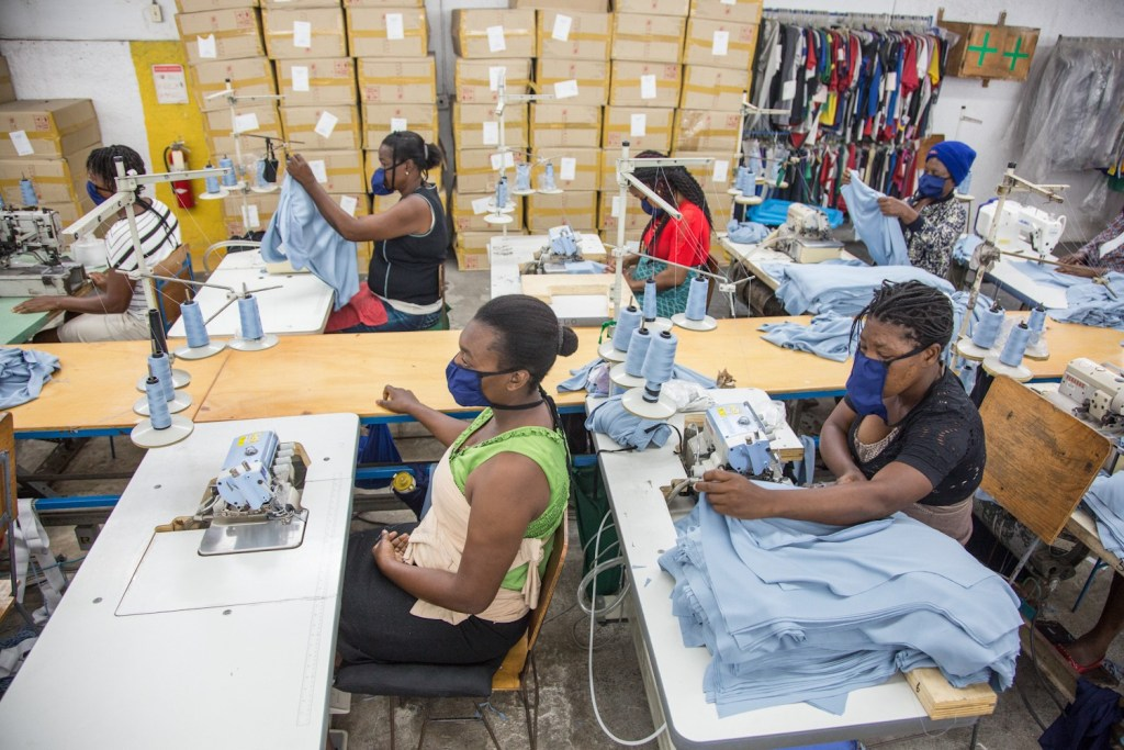 Haiti's government pledges financial help for the ​textile industry