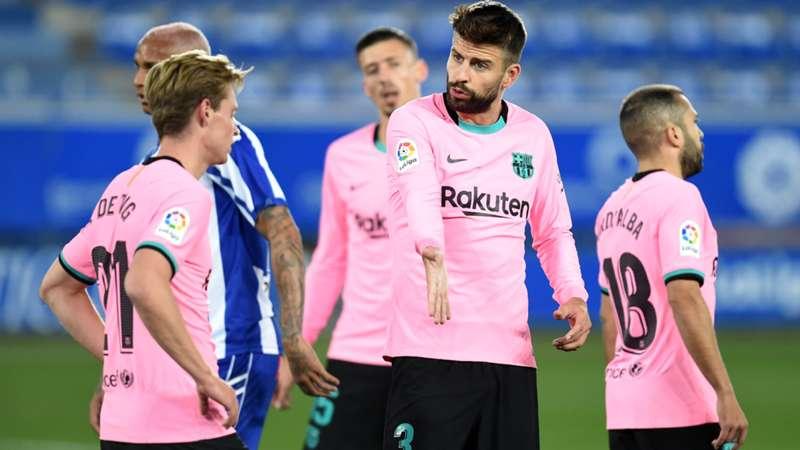 Barcelona slump to 18-year low in La Liga after Alaves draw