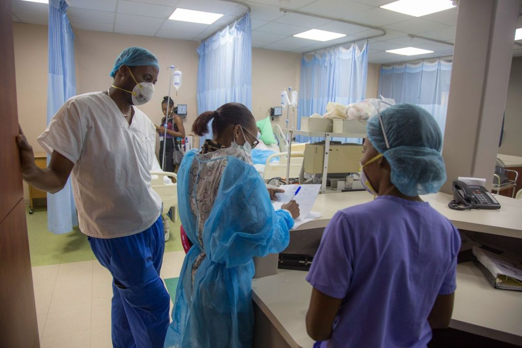 Health expert: Haiti won't see second COVID-19 wave, despite spike in US