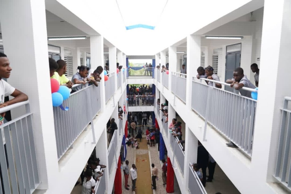 Twelve elementary schools open in Haiti's Central and Artibonite regions