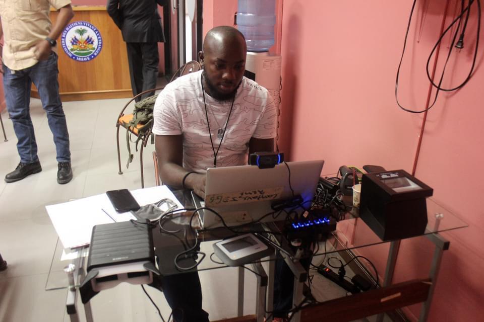 ID kiosk for diaspora opens at Port-au-Prince airport