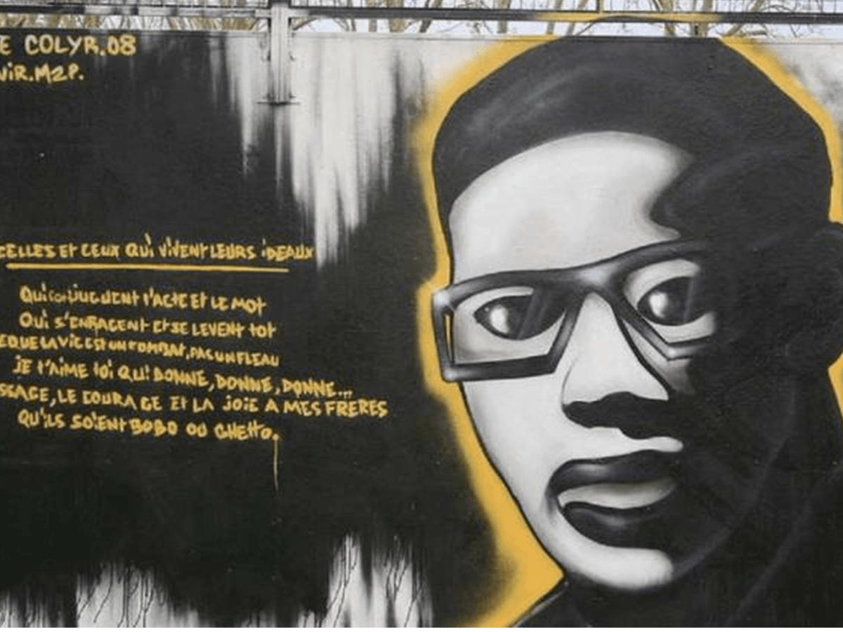 Aimé Césaire mural negritude