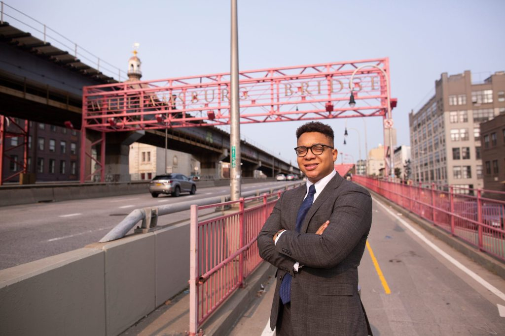 Emile Bazile: Building a bridge to politics for all Williamsburg residents