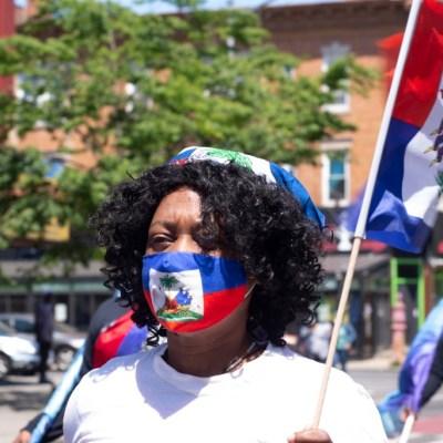 haitian flag, flag day, Flatbush Haitians
