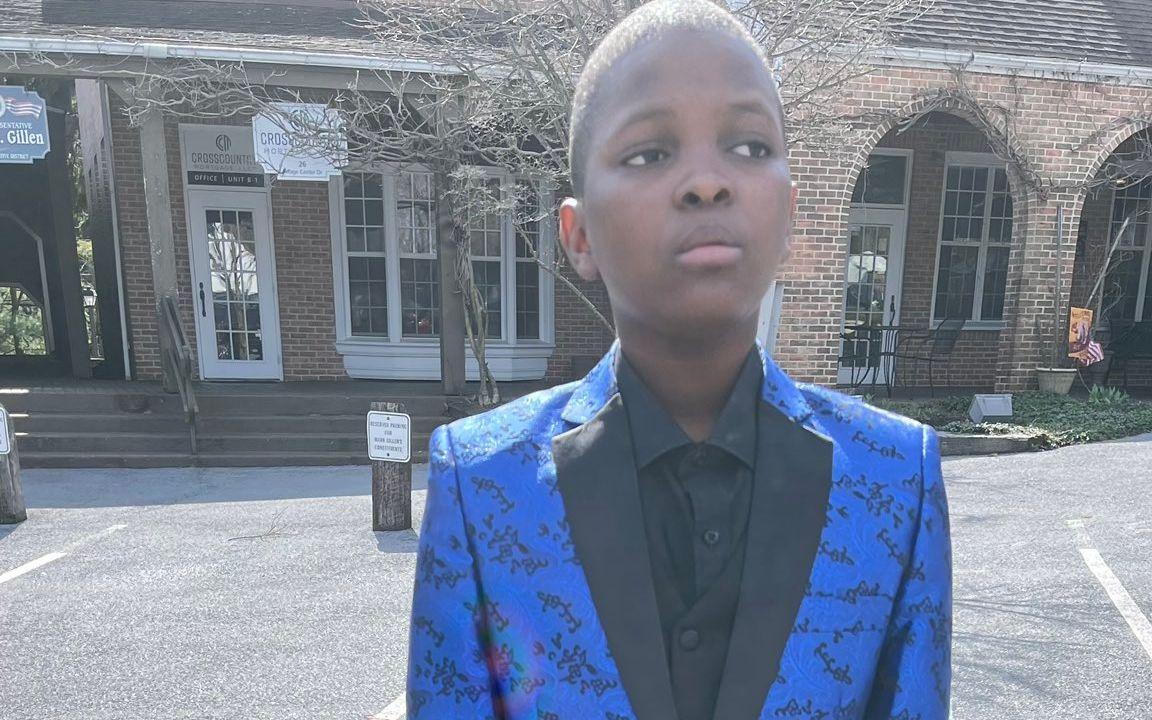 romy vilsaint haitian boy