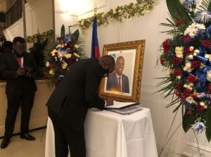 Haitians in diaspora gather to honor Moïse during funeral