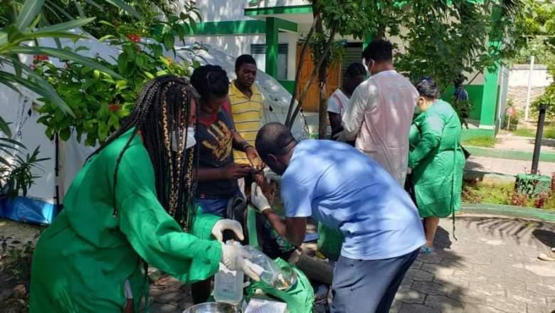 Cuban Doctors in Haiti