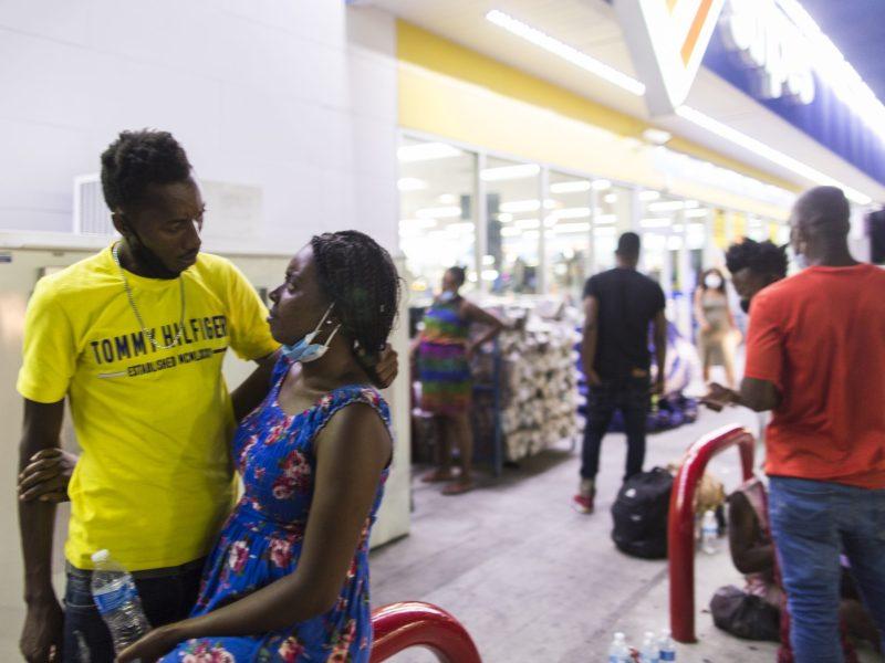 Haitian migrants texas border