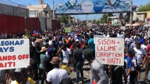 UN extends Haiti mission on same day Haitians demand its departure